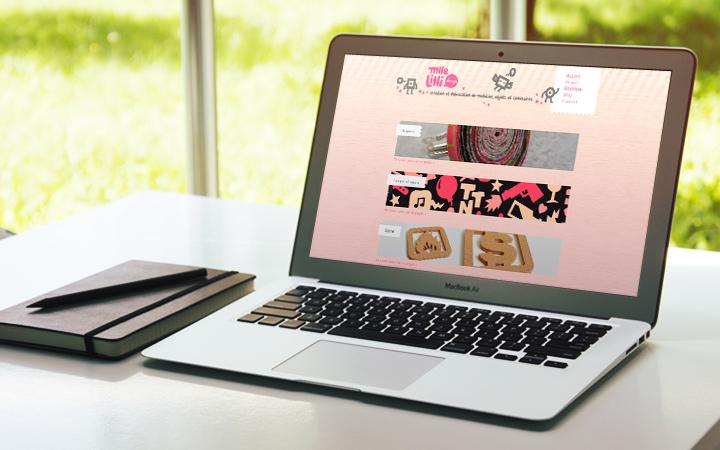 Site Mlle Lilli Design
