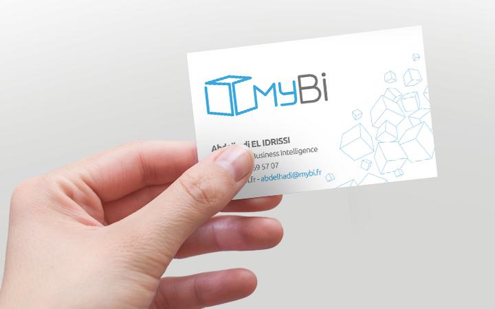 Réalisation logo MyBi