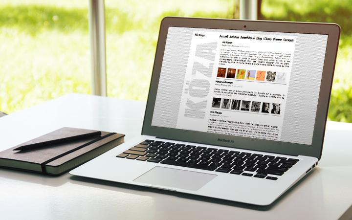 réalisation site web